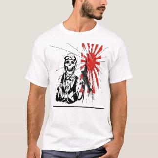 T-shirt Bombardier Su se levant japonais de kamikaze… -