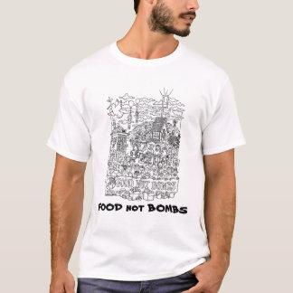 T-shirt BOMBES de NOURRITURE pas