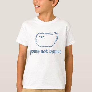 T-shirt Bombes de Poms pas