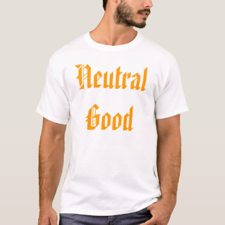 T-shirt Bon neutre