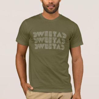 """T-shirt """"Bonbon en tant que"""" pièce en t de pochoir"""