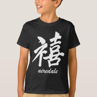 T-shirt Bonheur Airedale