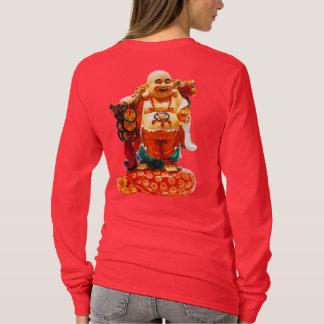 T-shirt Bonheur de sourire Bouddha