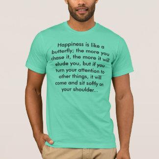 T-shirt Bonheur - Henry David Thoreau