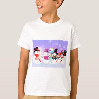 T-shirt Bonhommes de neige