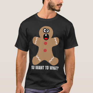 T-shirt Bonhommes en pain d'épice effrayés les meilleurs