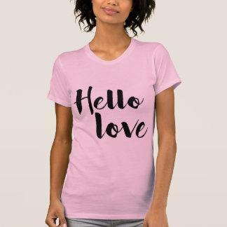 T-shirt Bonjour amour