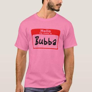 T-shirt Bonjour mon nom est Bubba