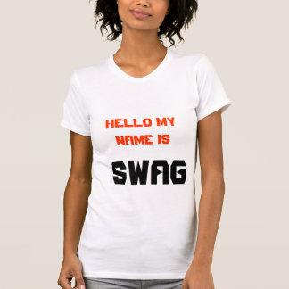 T-shirt bonjour mon nom est butin