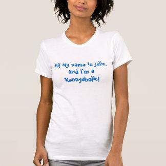 T-shirt Bonjour ! Mon nom est Julie, et je suis un