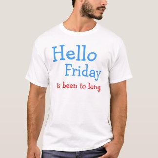 T-shirt Bonjour vendredi
