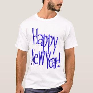 T-shirt Bonne année - BlueText (ajoutez la couleur