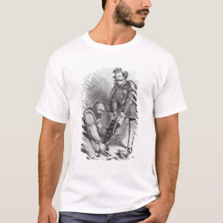 T-shirt Bonne jambe dans la botte chez Last