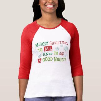 T-shirt Bonne nuit avant Noël