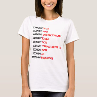 T-shirt Bonne nuit Obama