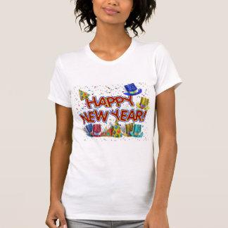 T-shirt Bonnes années de casquettes et confettis des
