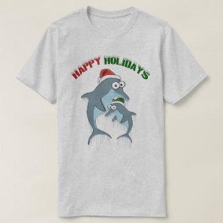 T-shirt Bonnes fêtes dauphins