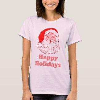 T-shirt Bonnes fêtes père Noël