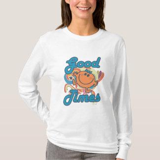 T-shirt Bonnes périodes avec petite Mlle Fun