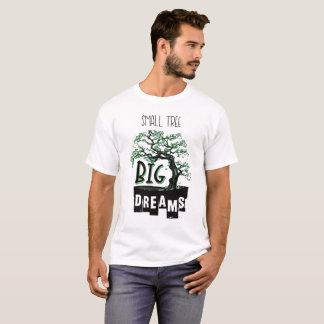 T-shirt Bonsaïs - grands rêves de petit arbre