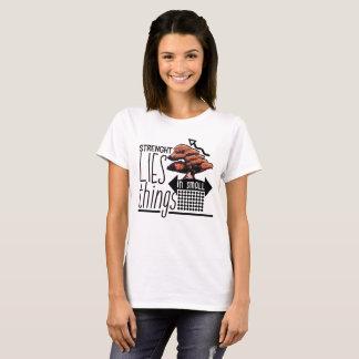 T-shirt Bonsaïs - la force se situe dans de petites choses
