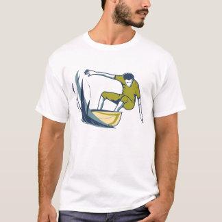 T-shirt Bonzer/de surfer d'hommes