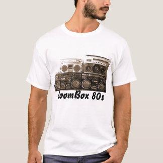T-shirt BoomBox 80s