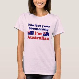 T-shirt Boomerang australien