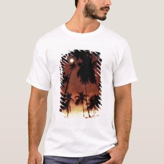 T-shirt Bora Bora, coucher du soleil de Polynésie
