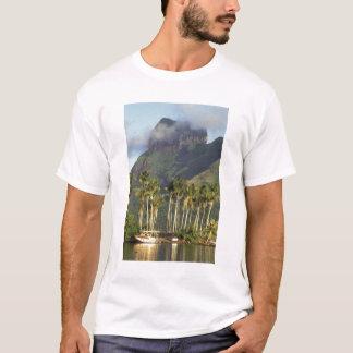 T-shirt Bora Bora, scène de bord de mer de Polynésie