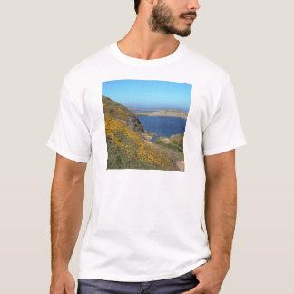 T-shirt Bord de la mer la Californie de Reyes de point de