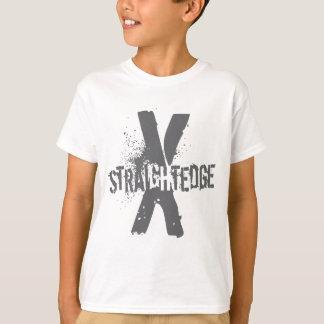 T-shirt Bord droit X gris-foncé