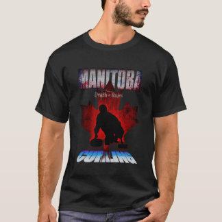T-shirt Bordage de règles de la mort de Manitoba
