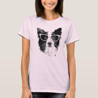 T-shirt Border collie Hipster