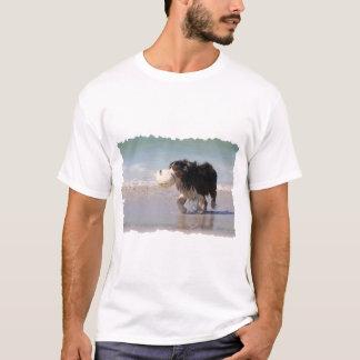 T-shirt Border collie - le football n'importe qui ?