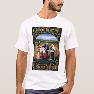 T-shirt :  Bosch - extraction de la pierre de la