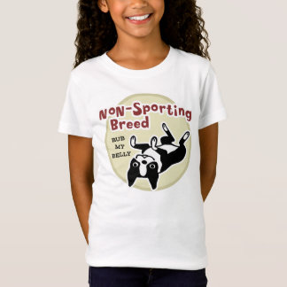 "T-Shirt Boston Terrier ""race Non-Sportive """
