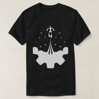 T-shirt Bots au-dessus des nuages