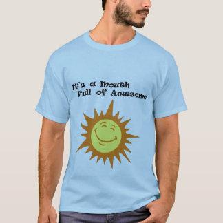 T-shirt bouche complètement d'impressionnant