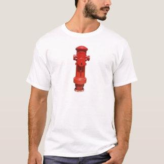 T-shirt Bouche d'incendie rouge