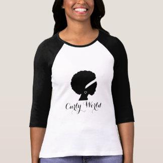 T-shirt bouclé du monde