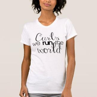 T-shirt Boucles - nous COURONS le monde