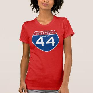 T-shirt Bouclier d'autoroute nationale du Missouri MOIS