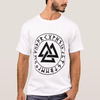 T-shirt bouclier de Rune de Tri Triangle de chemise