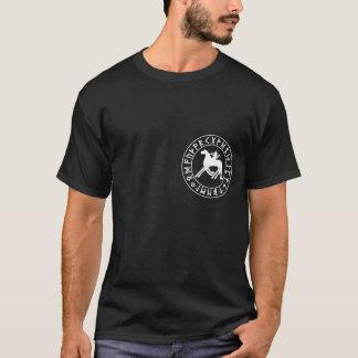 T-shirt Bouclier de Sleipnir sur le noir