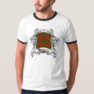 T-shirt Bouclier de tartan de Bruce