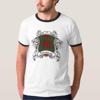 T-shirt Bouclier de tartan de Lindsay