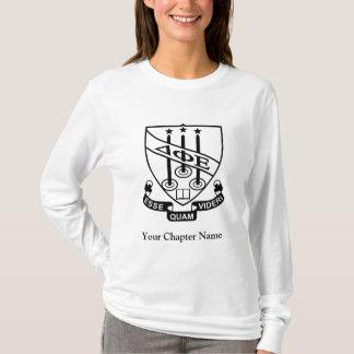 T-shirt Bouclier d'epsilon de phi de delta
