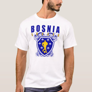 T-shirt Bouclier du football de la Bosnie