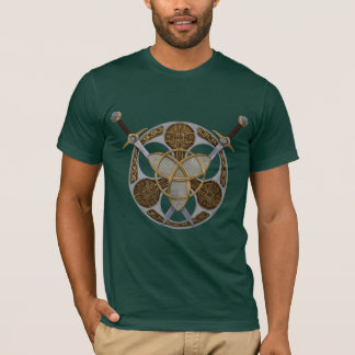 T-shirt Bouclier et épées celtiques